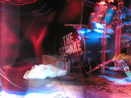 the strike's drum kit
